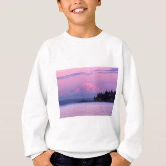 Der Mount Rainier am Sonnenuntergang, Staat Sweatshirt