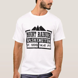 DER MOUNT RAINIER WASHINGTON T-Shirt