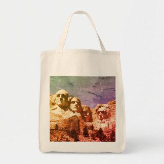 Der Mount Rushmore 1974 Einkaufstasche