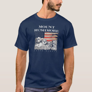 Der Mount Rushmore nationale Memorial Park Flagge T-Shirt
