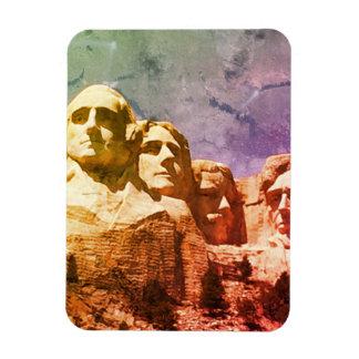 Der Mount Rushmore nationales Monument 1974 Vinyl Magnet