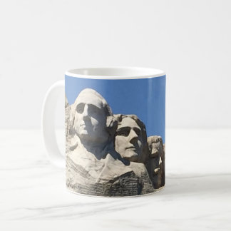 Der Mount Rushmore nationales präsidentialmonument Kaffeetasse