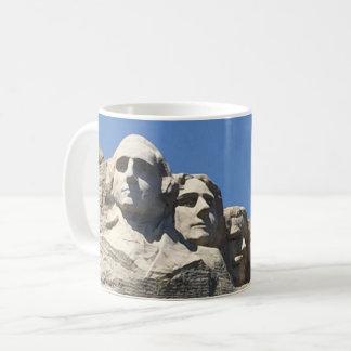 Der Mount Rushmore nationales präsidentialmonument Tasse