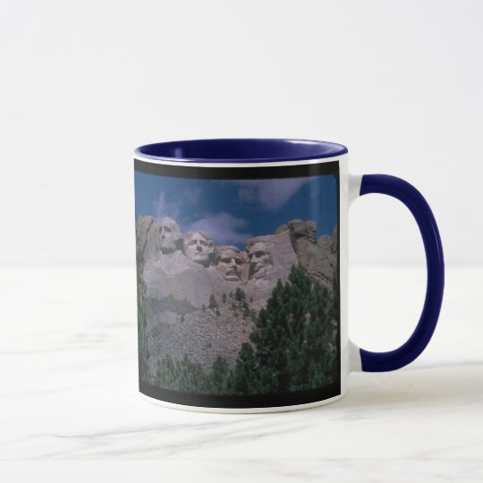 Der Mount Rushmore South Dakota TASSE