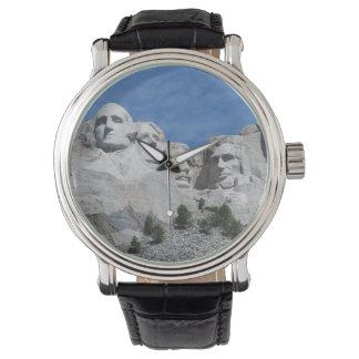 Der Mount Rushmore Uhr