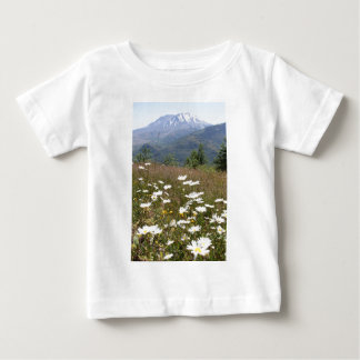 Der Mount Saint Helens Baby T-shirt
