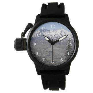 Der Mount- Saint HelensFoto Uhr