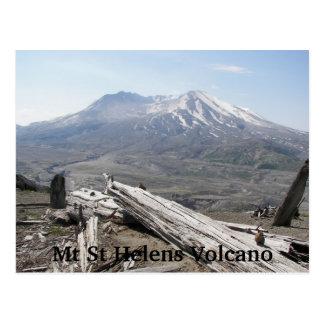 Der Mount- Saint Helensvulkan-Reise Postkarte