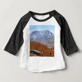 Der Mount- Saint HelensWildblumen Baby T-shirt