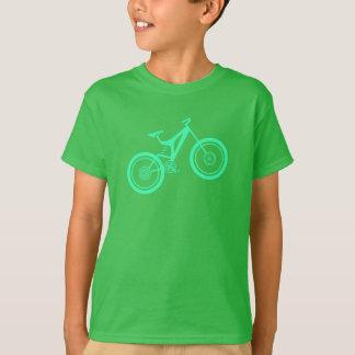 Der Mountainbiker des Kindes T-Shirt