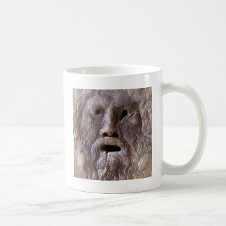 Der Mund der Wahrheit Kaffeetasse