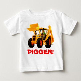 Der Name-Gelb-Gräber des Kindes Baby T-shirt