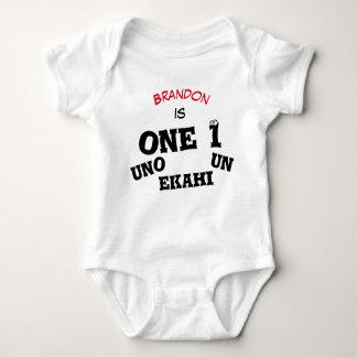 Der Name jedes möglichen Babys ist ein 1 - Baby Strampler
