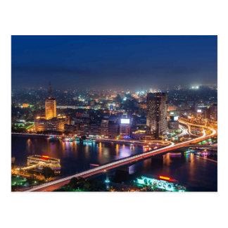 Der Nil in Ägypten Postkarte