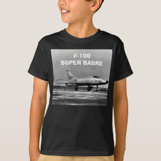 Der nordamerikanische F-100 Supersabre T-Shirt