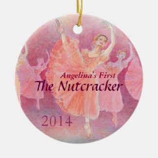 Der Nussknacker-Ballett-Verzierung Ihres Tänzers Keramik Ornament