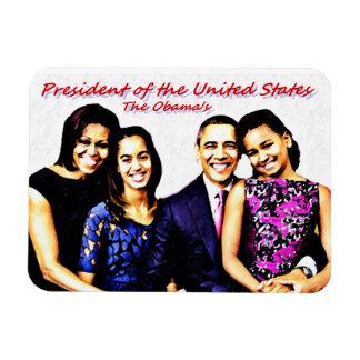Der Obama's_Premium Flexi Magnet