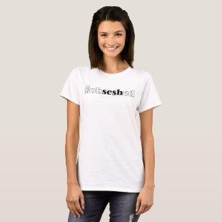 """""""Der #obseshed"""" weiße T - Shirt der Frauen"""