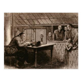 Der Opium-Verkehr Postkarte