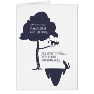 Der Optimismus des Pessimisten: Furcht vor Karte