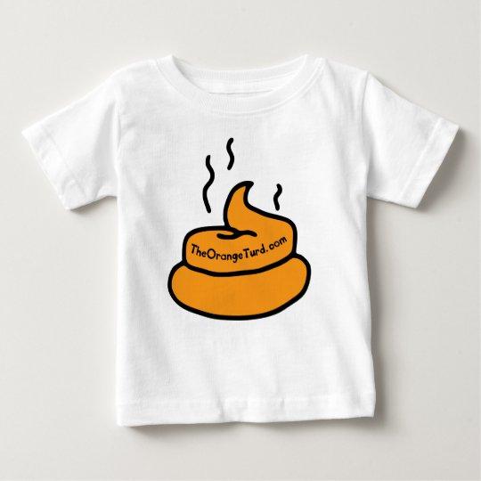 Der orange Turd Baby T-shirt