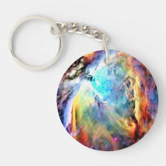 Der Orions-Nebelfleck Schlüsselanhänger