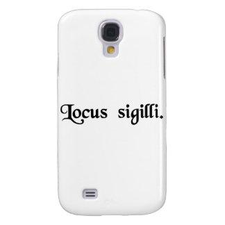 Der Ort der Dichtung Galaxy S4 Hülle