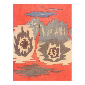 Der Ort der Zwillinge durch Paul Klee Postkarte