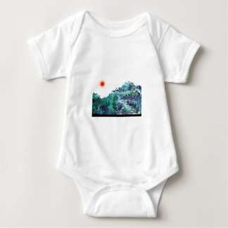 der Ozean Baby Strampler