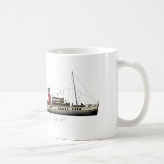 Der Paddel-Dampfer Waverley durch Tony Fernandes Kaffeetasse