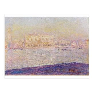 Der Palast der Doges gesehen von San Giorgio Postkarte