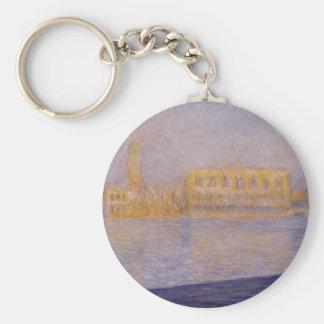 Der Palast der Doges gesehen von San Giorgio Schlüsselanhänger