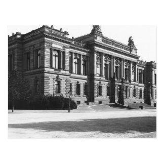 Der Palast der regionalen Delegation Postkarte