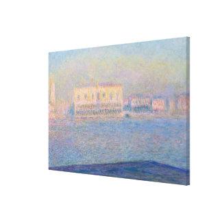 Der Palast des Doges gesehen von San Giorgio Leinwanddruck