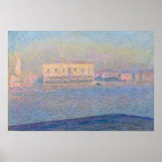 Der Palast des Doges gesehen von San Giorgio Poster