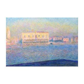Der Palast San Giorgio Maggiore Claude Monetdoges Leinwanddruck