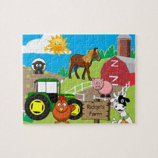 Der personalisierte Bauernhof des Kindes