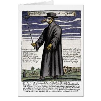 Der Pest-Doktor Karte