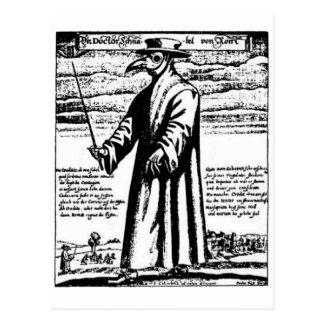 Der Pest-Doktor Postkarte