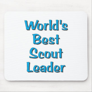 Der Pfadfinder-Führerwaren der Welt beste Mauspads