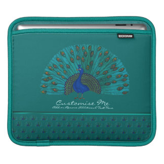 Der Pfau iPad Sleeve