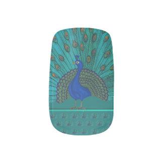 Der Pfau Minx Nagelkunst