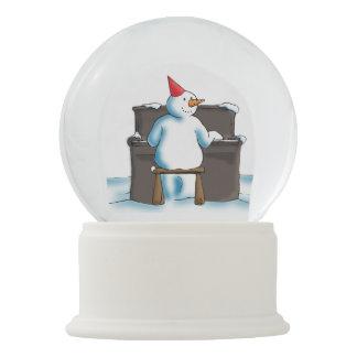 Der Pianist Schneekugel