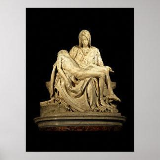 Der Pieta durch Michelangelo Poster