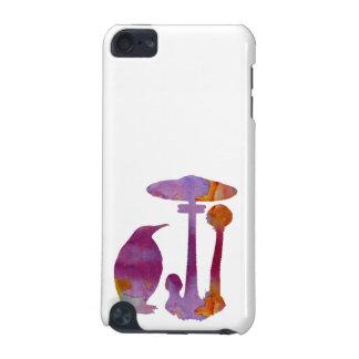 Der Pinguin und der Pilz iPod Touch 5G Hülle