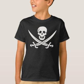 Der Piraten-T - Shirt des Kaliko-Jacks