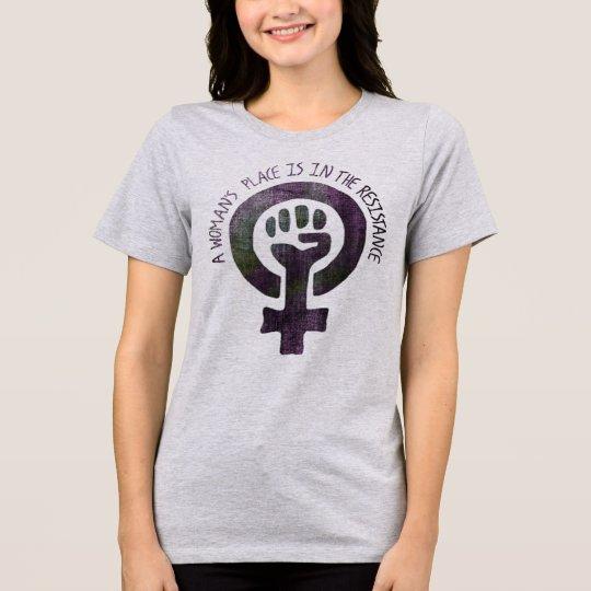 Der Platz einer Frau T-Shirt