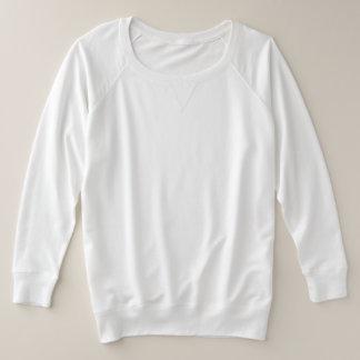 Der Plus-Size-Franzose-Terrys der Frauen langes Große Größe Sweatshirt