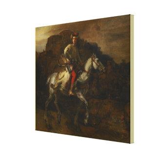 Der polnische Reiter durch Rembrandt Van Rijn Leinwanddruck