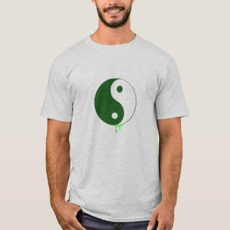 Der Pop-Kunst Yin der Männer u. Yang-Shirt T-Shirt